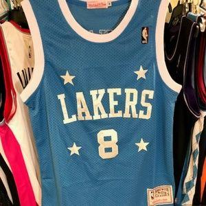 Vintage Kobe Bryant #8 NBA HWC Basketball Jersey